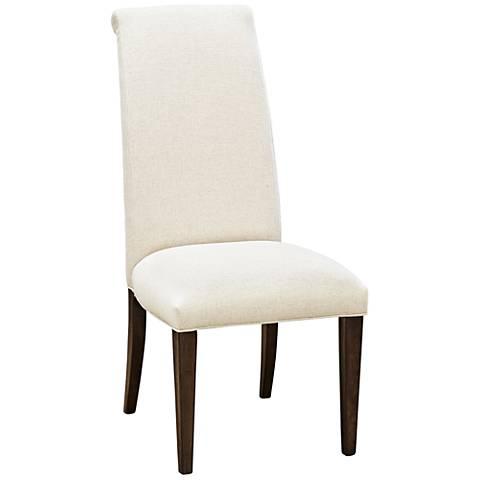 California Artisan Sand Fabric Side Chair