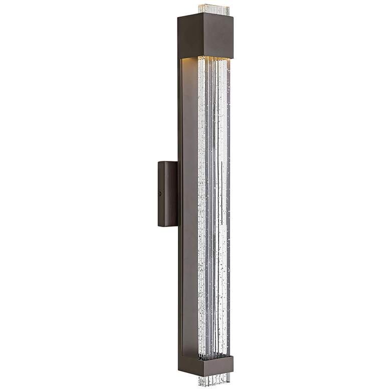"Hinkley Glacier 28"" High Bronze LED Outdoor Wall Light"