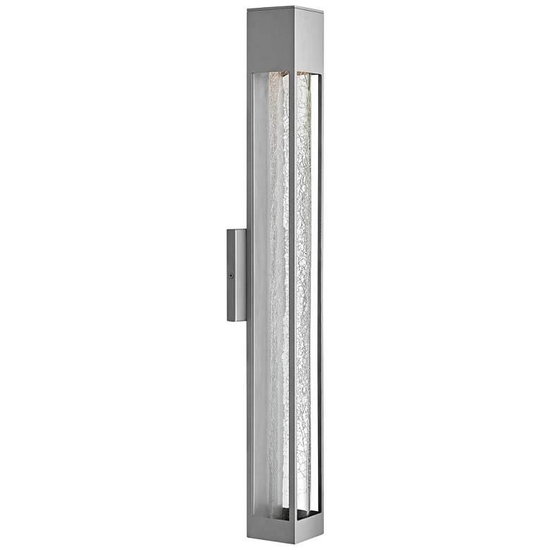 "Hinkley Vapor 28"" High Titanium Outdoor Wall Light"