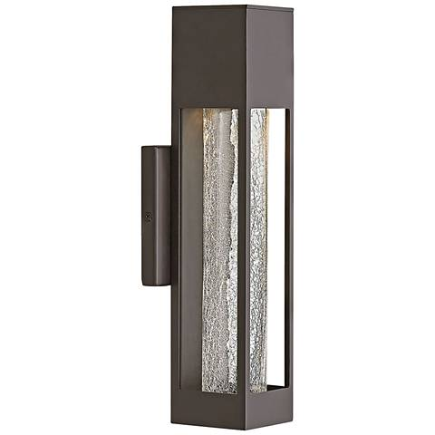 "Hinkley Vapor 14"" High Bronze Outdoor Wall Light"