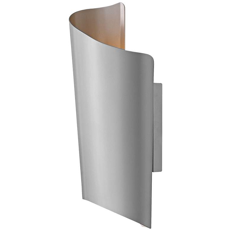 "Hinkley Surf 19"" High Titanium LED Outdoor Wall Light"