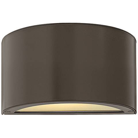 "Hinkley Luna 5"" High Bronze 2-LED Outdoor Wall Light"