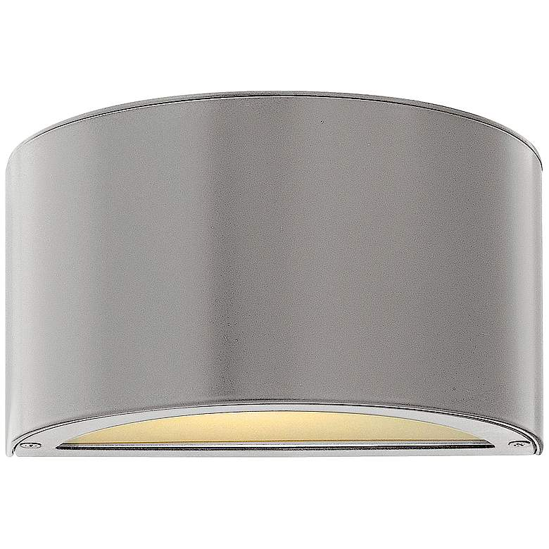 "Hinkley Luna 5"" High Titanium 2-LED Outdoor Wall Light"