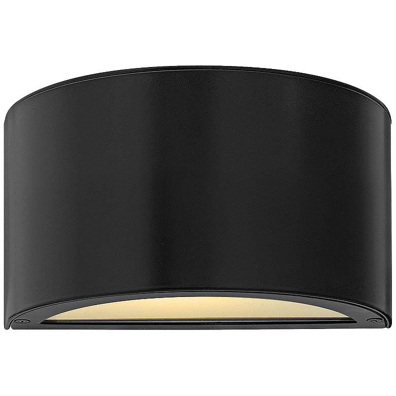 """Hinkley Luna 5"""" High Satin Black 2-LED Outdoor"""