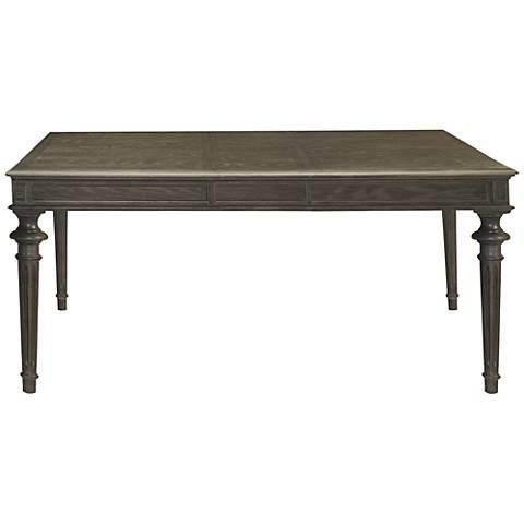Tribeca Studio Wood Extension Leg Dining Table