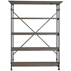 Great Studio Wood 4-Shelf Room Rack