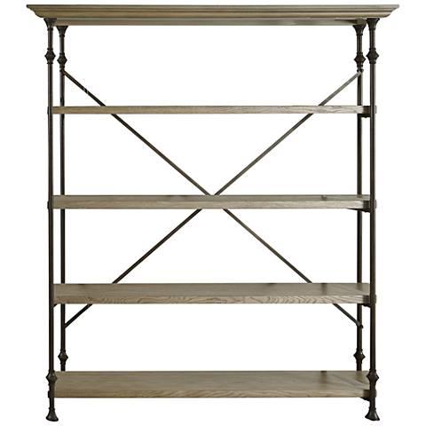 Great Brownstone Wood 4-Shelf Room Rack