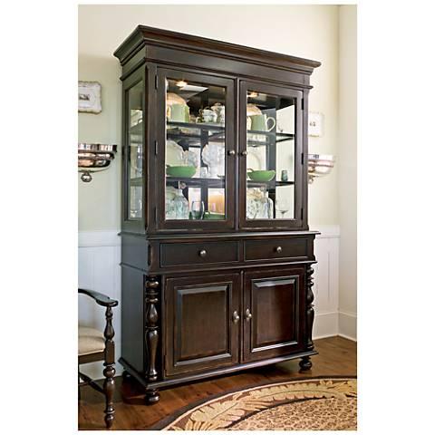 Paula Deen Home Tobacco 2-Drawer 2-Door Wood Buffet