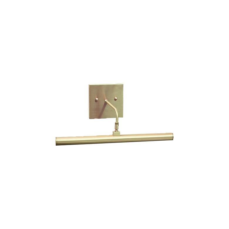"Slim-Line 14"" Wide Satin Brass Direct Wire LED"