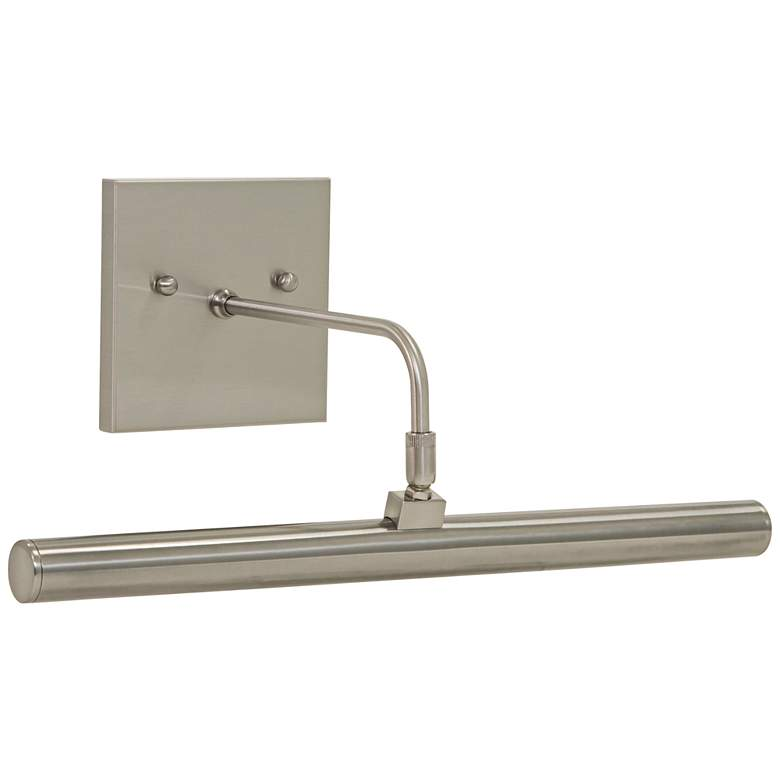 """Slim-Line 14""""W Satin Nickel Direct Wire LED Picture Light"""