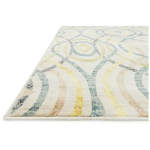 Madeline MZ-15 Multi-Color and Ivory Area Rug