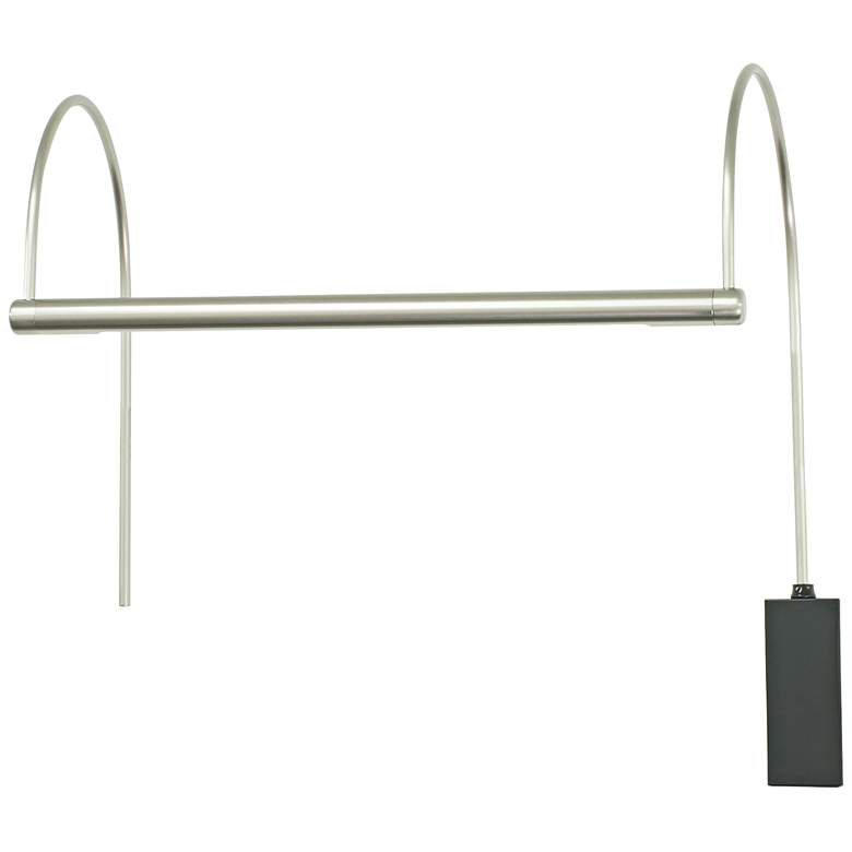 """House of Troy Ultra Slim-Line 15""""W Nickel LED Picture Light"""