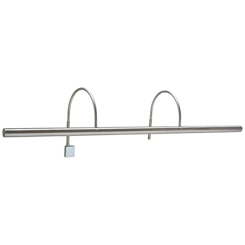 """House of Troy Slim-Line XL 36""""W Satin Nickel Picture Light"""