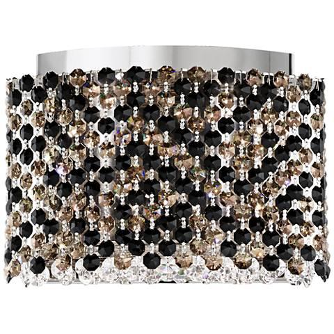 """Schonbek Refrax 7""""H Swarovski Jaguar Crystal LED Wall Sconce"""