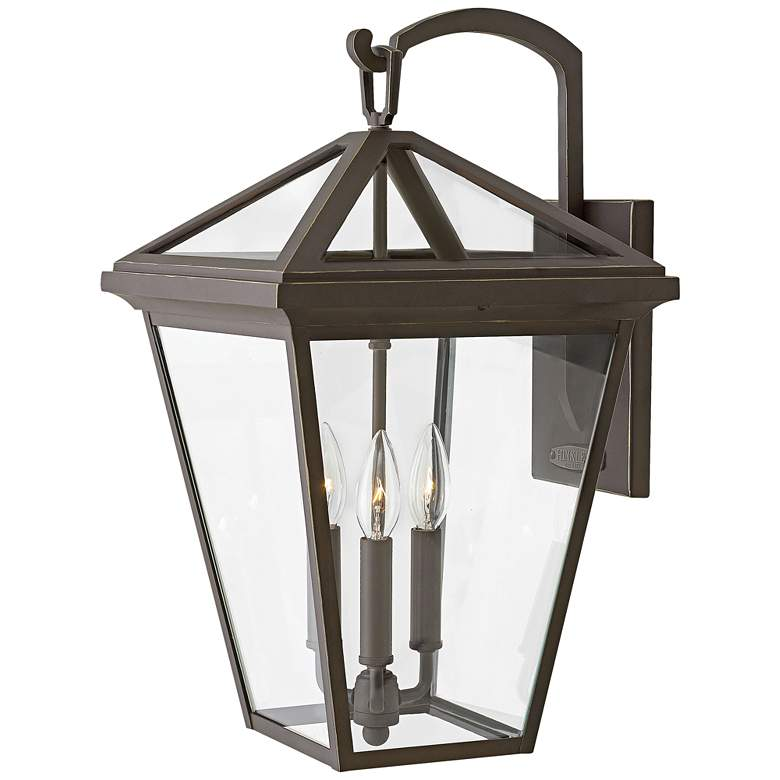 """Alford Place 20 1/2""""H Oil Rubbed Bronze Outdoor Wall Light"""
