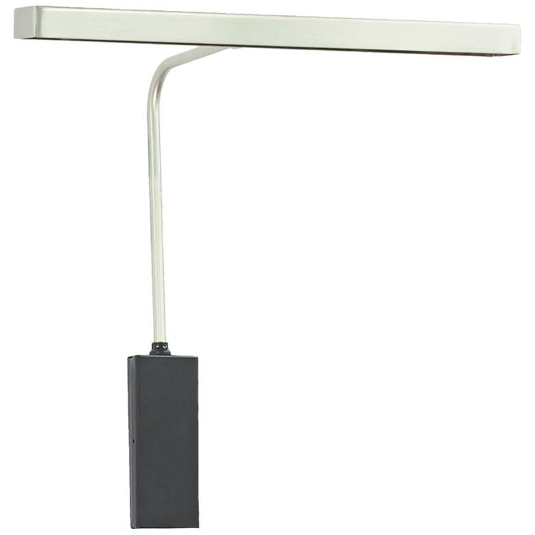 """House of Troy Horizon 12""""W Satin Nickel LED Picture Light"""