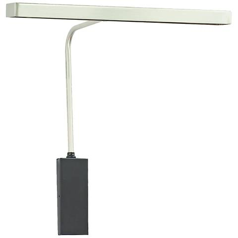 "House of Troy Horizon 12""W Satin Nickel LED Picture Light"