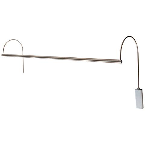 "House of Troy Ultra Slim-Line 41""W Nickel LED Picture Light"