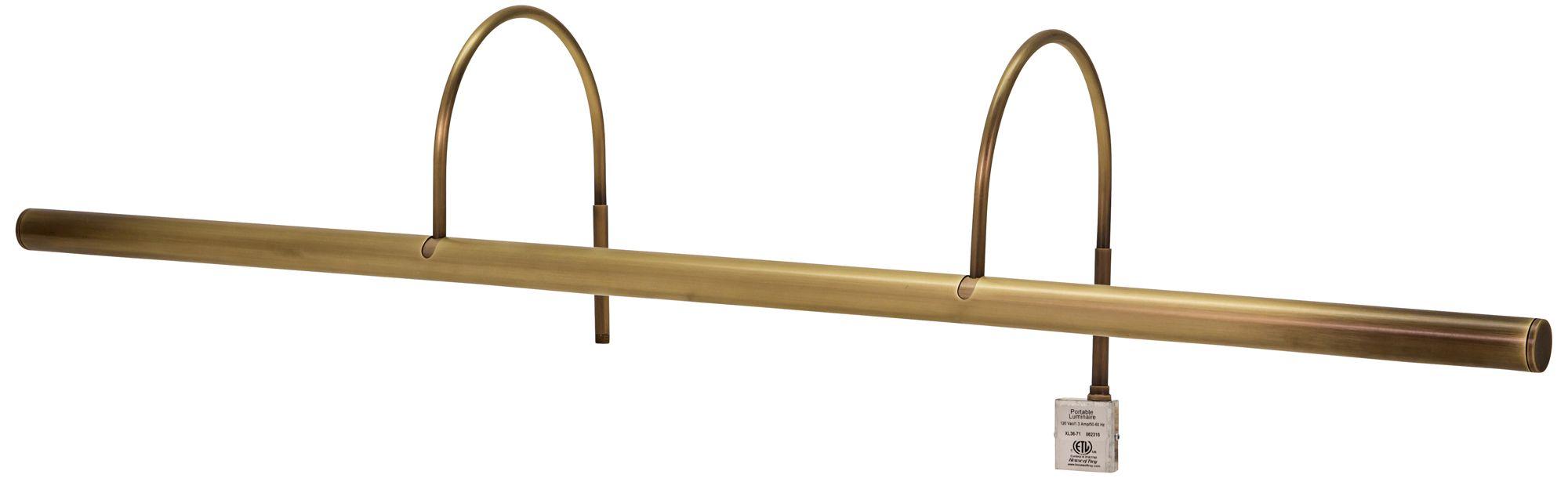 House of Troy Slim-Line XL 36 W Antique Brass Picture Light  sc 1 st  L&s Plus & House of Troy Slim-Line XL 36