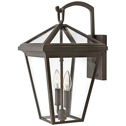 """Alford Place 17 1/2""""H Oil Rubbed Bronze Outdoor Wall Light"""