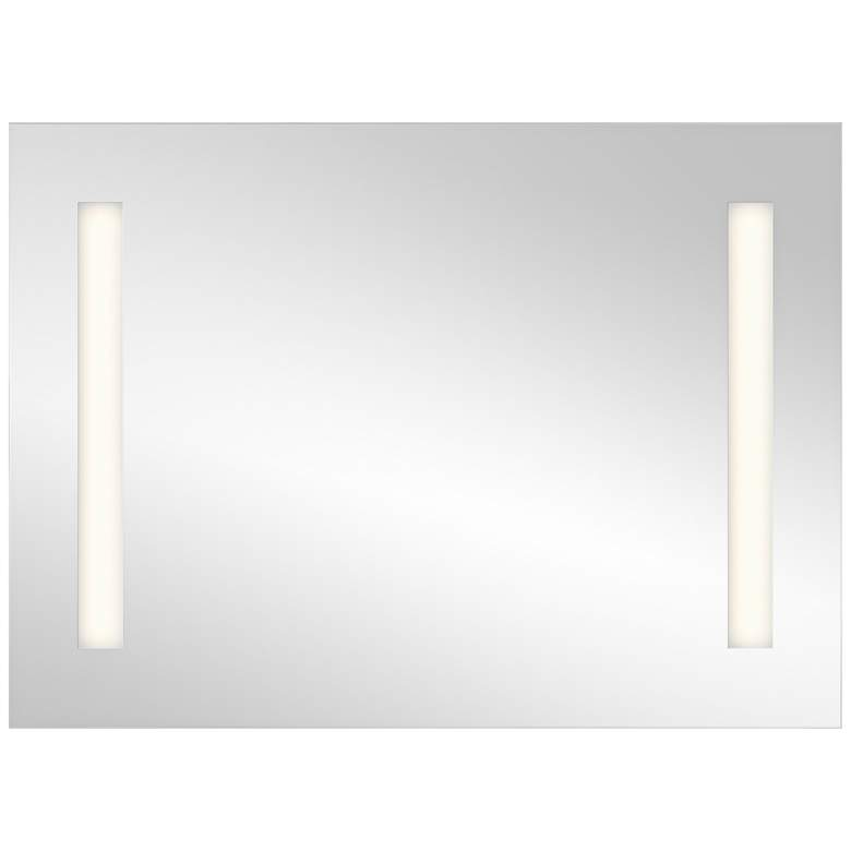 "Elan Edge-Lit Soundbar 36"" x 26"" LED Wall Mirror"