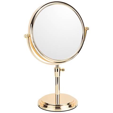 Classic Rose Gold Adjustable Makeup Mirror