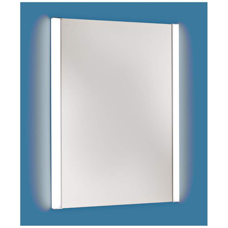 """Duo 23"""" x 31"""" LED Vanity Mirror with Tunable Light Colors"""