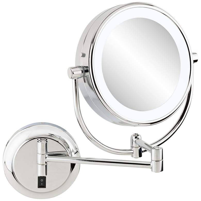"Aptations Neomodern 3 1/4"" Deep 5500K LED Makeup Mirror"
