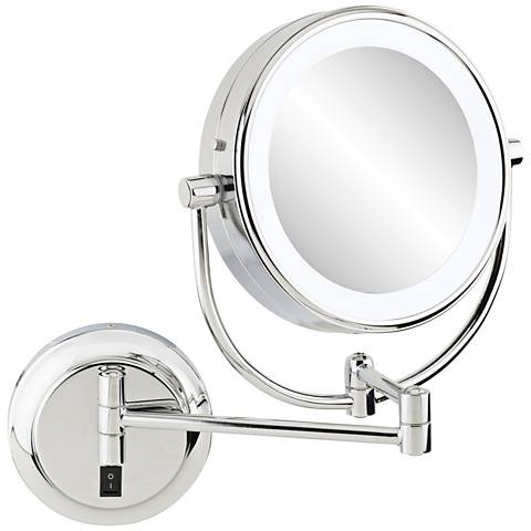 "Aptations Neomodern 3 1/4"" Deep 3500K LED Makeup Mirror"