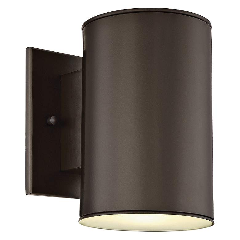 """Barrow 7"""" High Oil Rubbed Bronze LED Outdoor Wall Light"""