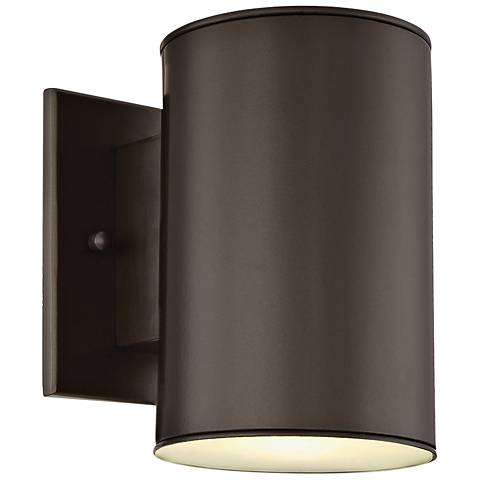 "Barrow 7"" High Oil Rubbed Bronze LED Outdoor Wall Light"