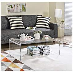acrylic, coffee tables, tables | lamps plus