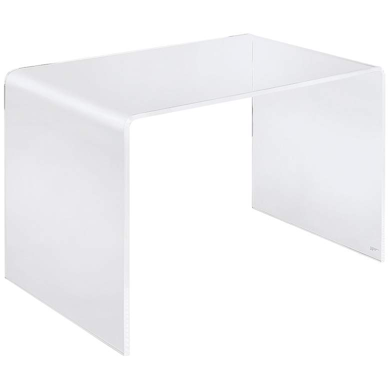 "Sundeen 43 1/2"" Wide Rectangular Acrylic Modern Desk"