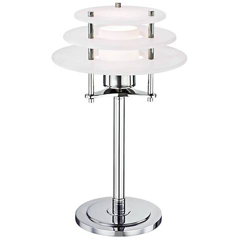 Lighting On The Square Roman Bronze Metal Accent Table
