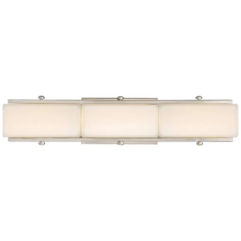 "Rowan 22 1/2"" Wide Satin Platinum LED Bath Light"