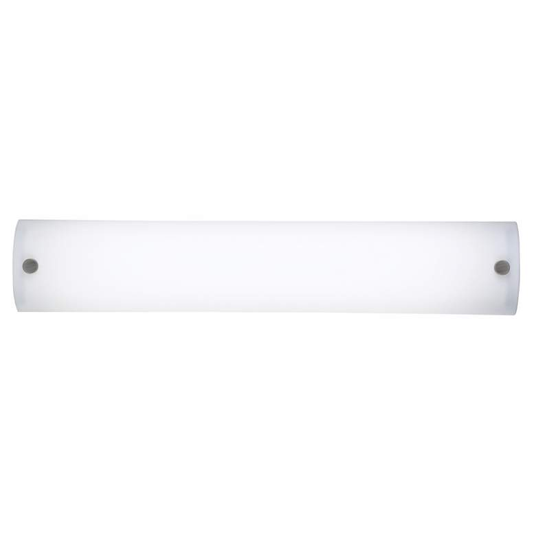 22077 - Frosted White Acrylic Two-Light Bath Light