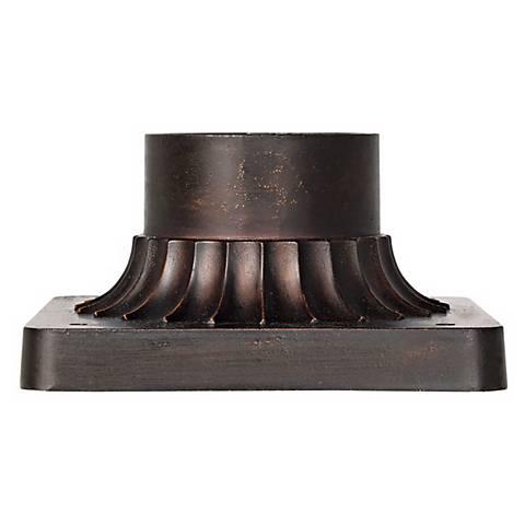 Bronze Finish Post Mount Adapter