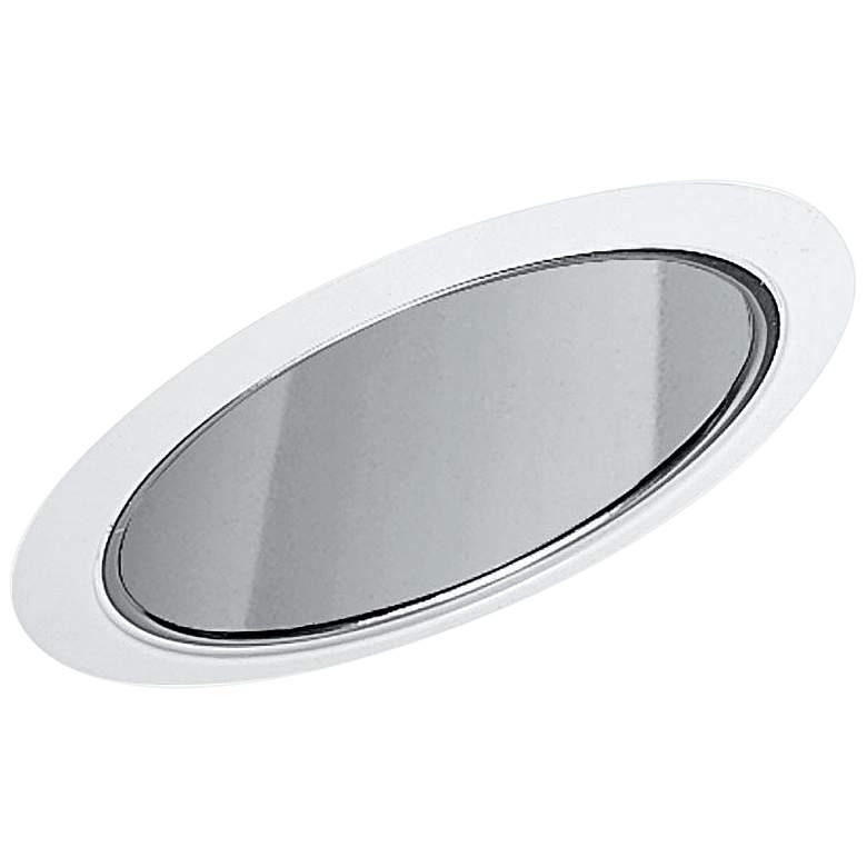 """Juno 6"""" White Line Voltage Slope Ceiling Recessed Light Trim"""