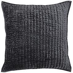 """Maison Charcoal 20"""" Square Decorative Pillow"""