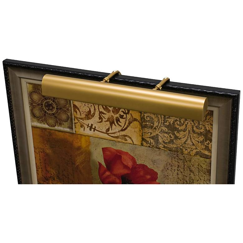 """House of Troy Traditional 24"""" Wide Gold Picture Light"""