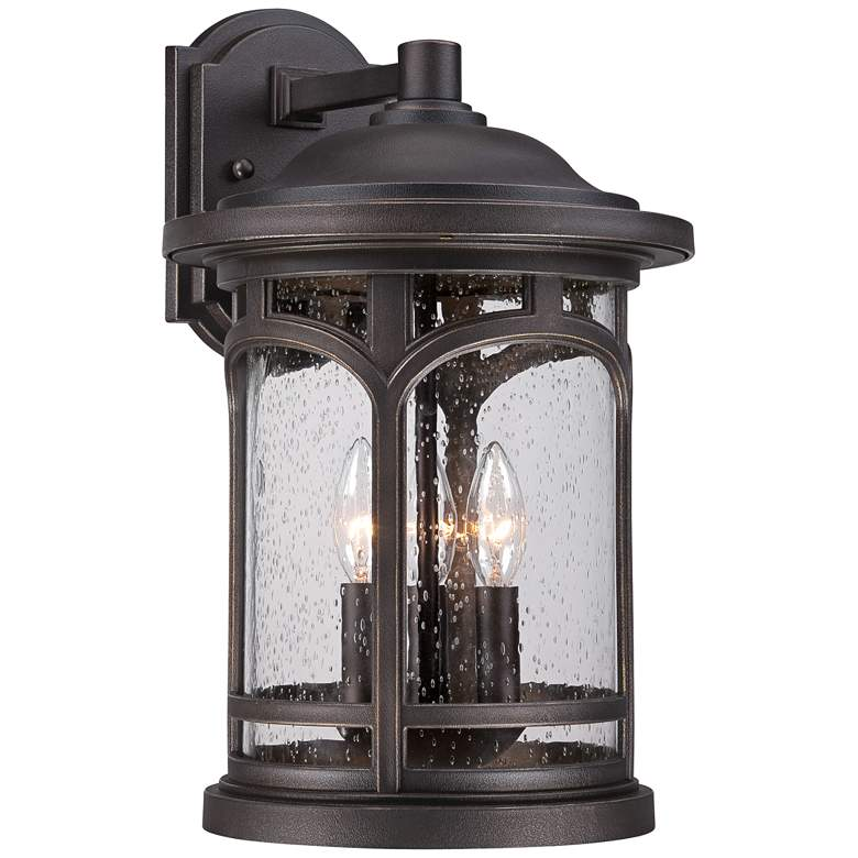 "Marblehead 17 3/4"" High Palladian Bronze Outdoor Wall Light"