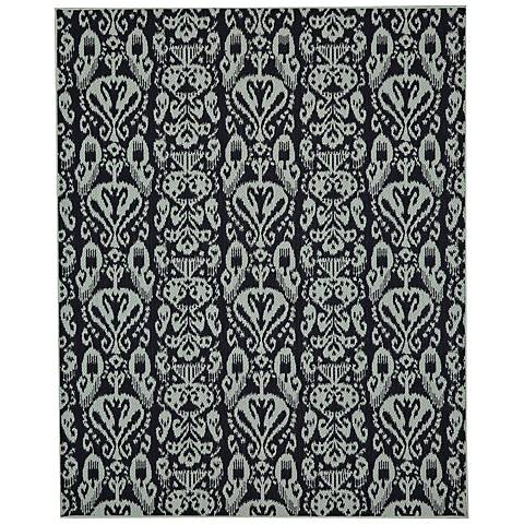 Portico 91023 Bondi Navy Outdoor Area Rug