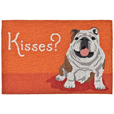 Frontporch Wet Kiss 156717 Orange Outdoor Area Rug