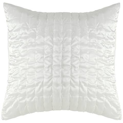 Aura Ivory Fabric Pillow Sham