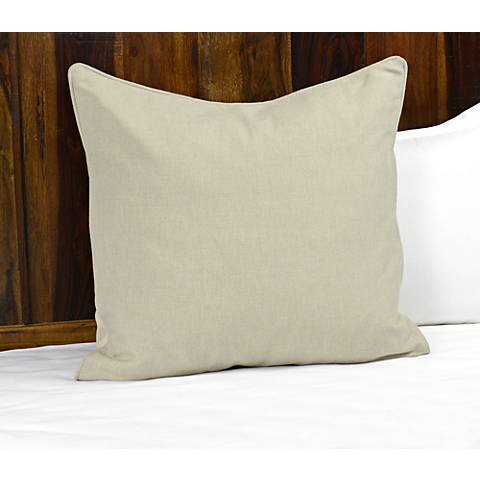 Clarin Natural Fabric Pillow Sham