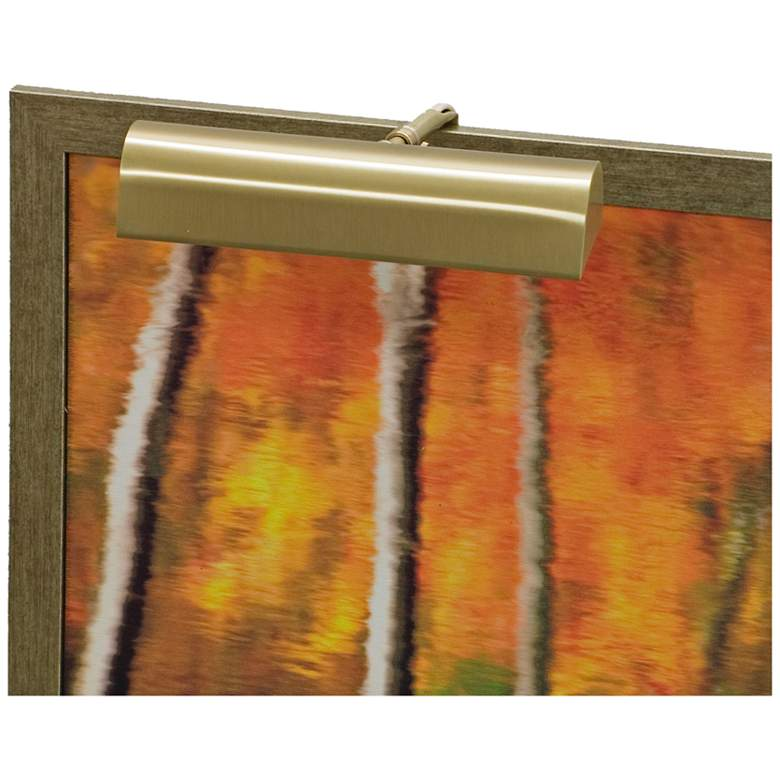 """House of Troy Traditional 9"""" Wide Satin Brass"""