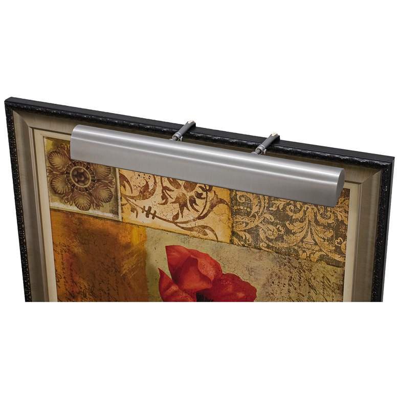 """House of Troy Traditional 36"""" Wide Pewter LED"""