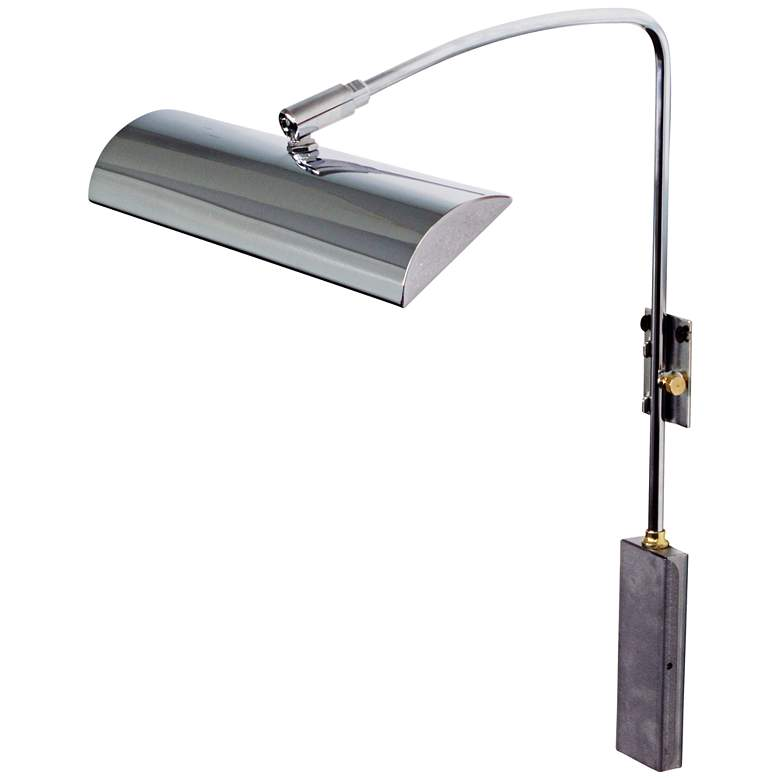 """House of Troy Zenith 12"""" Wide Chrome LED Picture Light"""
