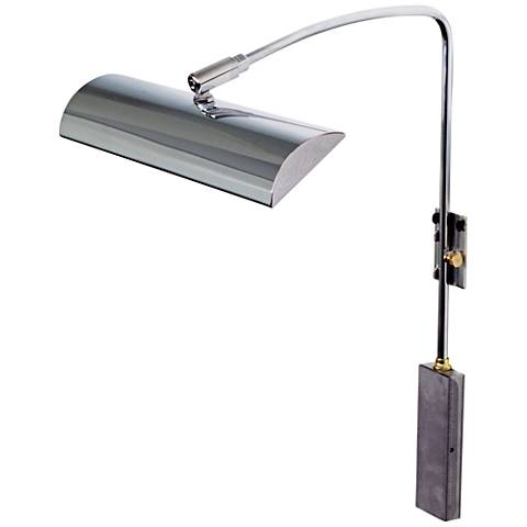 "House of Troy Zenith 12"" Wide Chrome LED Picture Light"
