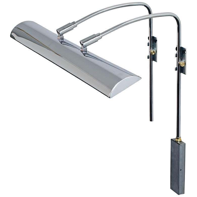 """House of Troy Zenith 24"""" Wide Chrome LED Picture Light"""